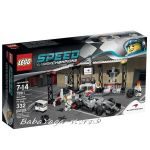 LEGO SPEED Champions Боксът на McLaren Mercedes Pit Stop, 75911