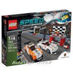 2015 LEGO Конструктор SPEED Champions Финалът на Porsche 911 GT Finish Line  - 75912