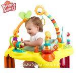 Bright Starts Детски център - бънджи Springin' Safari™ Bounce-A-Round™ - 60266