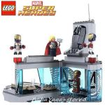 LEGO Конструктор SUPER HEROES Attack on Avengers Tower - 76038