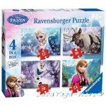 Ravensburger Disney Frozen Jigsaw: 4 in a Box Puzzle (NEW) - 073603