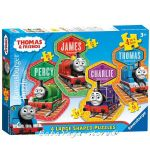 Ravensburger Thomas & Friends: Large Shaped puzzle 4in1, 072385
