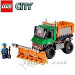 LEGO City Камион снегорин Snowplough Truck - 60083