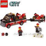 LEGO City Транспортьор на състезателен мотор Racing Bike Transporter - 60084