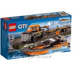 LEGO City Камион с моторница 4x4 with Powerboat, 60085