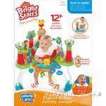 Bright Starts Детски музикален център Having A Ball Explore & Roar Activity Jumper - 60371