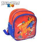 Детска РАНИЦА с героите от Ядосаните птици в РИО - Angry Birds Rio backpack 26cm - 16139