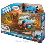 Fisher Price Влакчето ТОМАС Thomas & Friends Revolution Breakaway Bridge Set  от серията TrackMaster™ CDB59