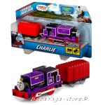 Fisher Price Влакче ЧАРЛИ, Thomas & Friends Motorized CHARLIE Engine от серията TrackMaster, CDB71
