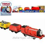 Fisher Price Влакчето ТОМАС Thomas & Friends Motorized Skared James Engine от серията TrackMaster™ BDP07