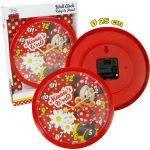 Стенен часовник за детска стая МИНИ Маус - Minnie Mouse Clock 25cm 10461