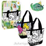 Чанта за оцветяване ФЕИТЕ - Камбанка, Fairies shoulder bag for painting, 300186