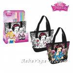 Чанта за оцветяване ПЕПЕЛЯШКА Princess shoulder bag for painting, 300185