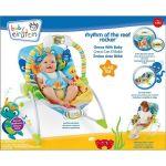 Bright Starts Шезлонг за бебе музикален с вибрации Rhythm of the Reef Cradling Rocker от серията Baby Einstein - 60230
