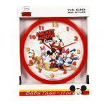 Стенен часовник за детска стая МИКИ Маус 25cm - Mickey Mouse Clock 10462