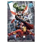 Детско одеяло ОТМЪСТИТЕЛИТЕ Avengers city fleece blanket, 7202