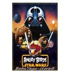 Kids fleece blanket Star Wars Angry Birds, 7202