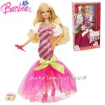 Barbie КУКЛА Барби Перфектна КОЛЕДА Perfect Christmass на Mattel  V6985