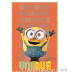 Kids fleece blanket Minions Unique, 7201