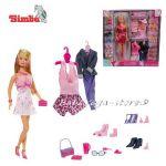 Simba КУКЛА Steffi Love с модерни дрехи и аксесоари - 105736015