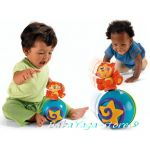 Fisher Price Музикална топка с МАЙМУНКА Go Baby Go - M4045