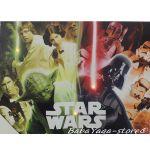Картина с LED светлина за детска стая Междузвездни войни -  Star Wars canvas 14064