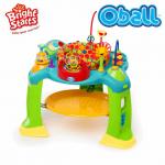Bright Starts Детски музикален център - бънджи Bounce-O-Bunch от серията Oball - 60550