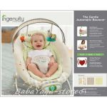 Bright Starts Шезлонг за бебе музикален с вибрации InGenuity The Gentle Automatic Bouncer™ Seneca™ - 60338