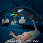 Bright Starts Люлка музикална за бебе SANECA от серията InGENUITY InLighten - 60347