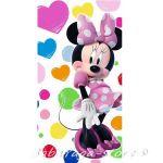 Детска Хавлия Мини Маус - Minnie Mouse bath towel 70x140cm WD15012