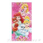 Детска Хавлия Кралски любимци на Принцесите - Disney Princess Pets beach towel 70x140 cm - WD51014