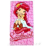 Детска Хавлия Ягодка - Strawberry bath, beach towel 70x140 cm - 820111