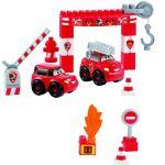 Ecoiffier Abrick Конструктор Пожарна станция Абрик (33ч), 3242