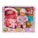 БЕБЕ-кукла 30см с кош и мече от серията Dream collection Baby Comfort set - 29208