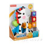Fisher Price Зебра с кубчета и топче Roller Blocks Tumblin' Zebra - CGN63