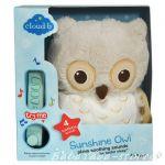 7462 Спокойно БУХАЛЧЕ музикална играчка от CloudB, Sunshine Owl Natural
