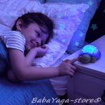 7580 Прожекционна нощна лампа КОСТЕНУРКА от CloudB, SuperMax The Turtle