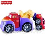 Fisher Price Играчка КАМИОНЧЕ-влекач Rollin' Tug & Rumble Tow Track- V6992