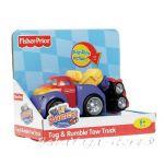 Fisher Price Играчка КАМИОНЧЕ-влекач Rollin' Tug & Rumble Tow Track- V6992
