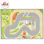 Килимче за игра Писта на Sevi (93 x 67cm) - 60266