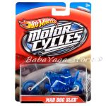 Hot Wheels Speed Cycles 1/64 Push Around Motorcycle And Rider X4222
