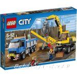 LEGO CITY Excavator and Truck - 60075