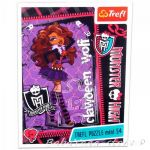 TREFL Puzzle mini Clawdeen Wolf  Monster High (54 pcs) - 19330
