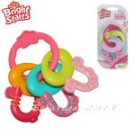 Bright Starts License to Drool Teether Keys - Pink, 8742
