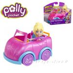 Polly Pocket Convertible Cabriolet  Mattel, X4006