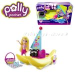 Polly Pocket and Banana boat,Mattel, V3239