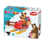 Masha and the Bear's Slejgh with Building Blocks, 800057101