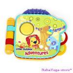 Bright Starts Музикална КНИЖКА Little adventures, 8979