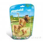 Playmobil Комплект фигурки за игра, Семейство Лъвове, Lion Family, 6642