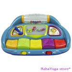 Bright Starts ПИАНО музикална играчка SILLY TUNES PIANO, 8919